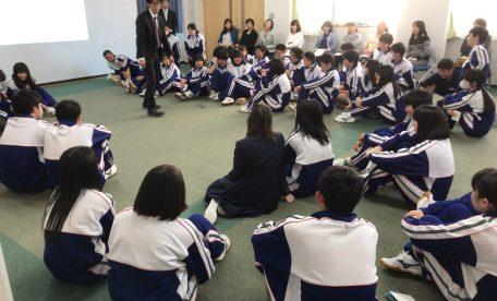 九里学園授業参観 & PTA総会