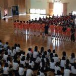 九里学園壮行式
