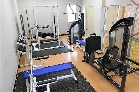 九里学園ウェイトトレーニング室