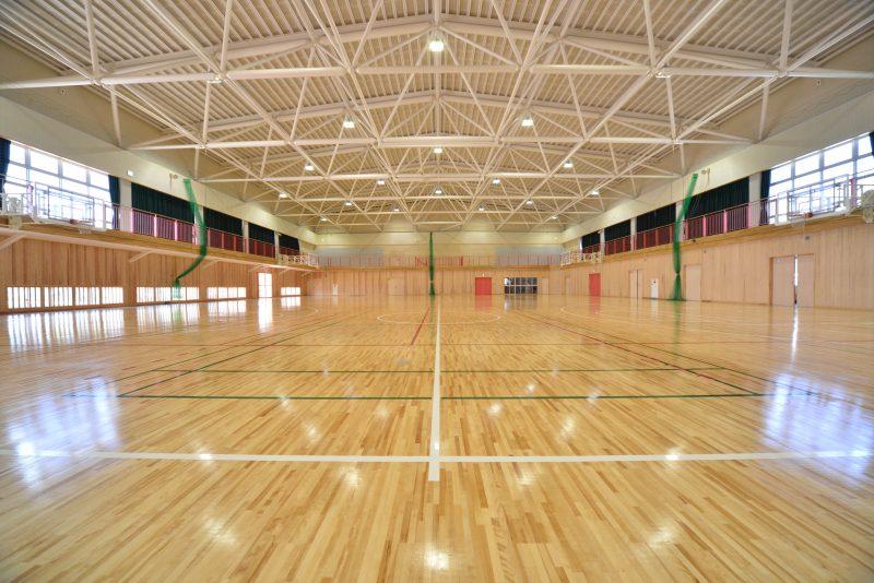 九里学園体育館