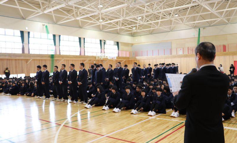 九里学園任命式