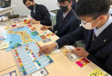 【1~3年生:令和3年5月14日(金)】グローカルα 「SDGsワークショップ:SDGsボードゲームでSDGsの理解を深める」